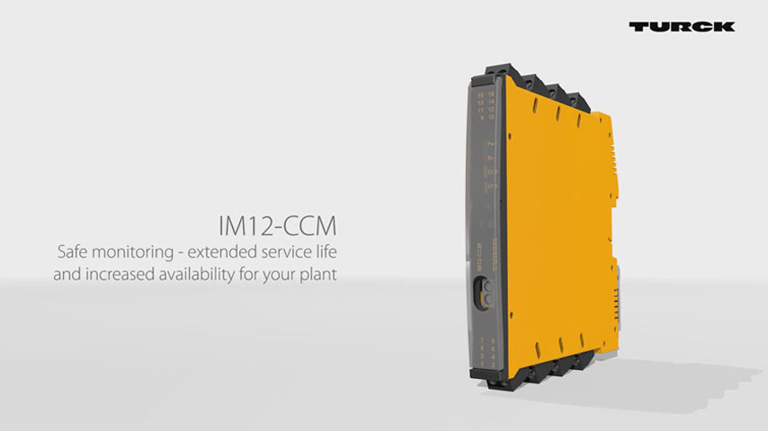 IM12-CCM – Cabinet Condition Monitoring for Factory Automation